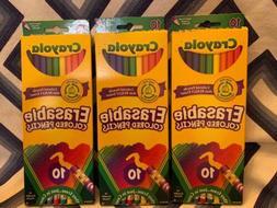 Crayola 10 Count Erasable Colored Pencils