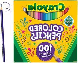 Crayola 100 The Big Sharpened Colored Pencils