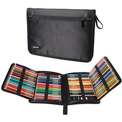 Teamoy 100 Slots Pencil Case-High Capacity Pen Holder, Fits