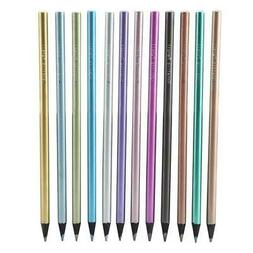 12 Colors Metallic Color Drawing Pencil 12 Assorted Colors S