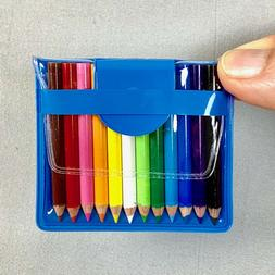 BC USA 12 Mini Colored Pencils in Handy Pouch