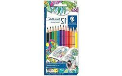 12 Piece Staedtler Johanna Basford Noris Club Wood Colored P