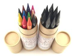 Ashleigh Nicole Arts 12 Woodless Colored Pencils Plus Graphi