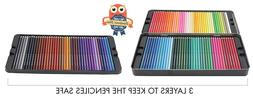 120 Colored Pencils GIANT SET Unique Colors Premium Kids & P
