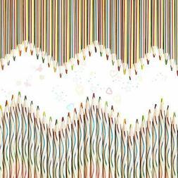 120 Pieces Rainbow Color Pencils 4-in-1 Color Pencils Assort