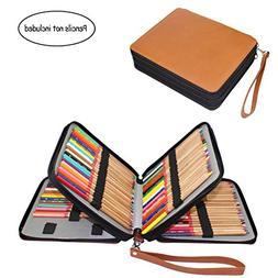 120 Slots Pencil Case, Travel Portable Colored Pencil Holder