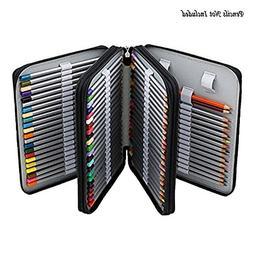 Gam3Gear 120 Slots Pencil Case Multi-layer PU Leather Pencil