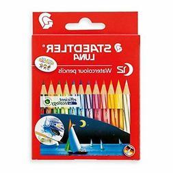 1371001C12 Staedtler watercolor pencils Luna 12 color set Sh