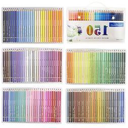 150 Set Watercolor Pencils w Unique Color Name Water Soluble