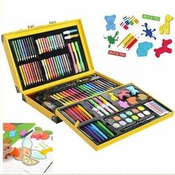 159 Piece Art Set for Kids w/ Suitcase Colored Pencils Crayo