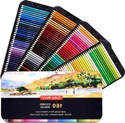 160 Colored Pencils,Artist Pencils Set For Coloring Books,Id