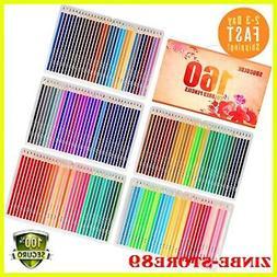Soucolor 160 Colored-Pencils Set Artist Drawing Coloring Pe.