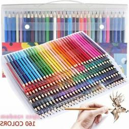 160 Colors Pencils Kit For Kids/Adult Coloring Drawing Art S