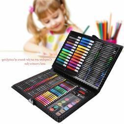 168pcs Art Drawing Pencils Set Colored Pencils Watercolor Ma