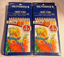 2-Boxes Staedtler Noris Box #144ND24 2X 24  Drawing A-B-S Co