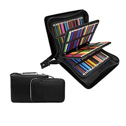 200 + 16 Slots Pencil Case & Extra Pencil Layer Holder - Bun