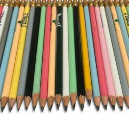 200 Wood Pencils Pre Sharpened #2 Lead Random Colors & Desig