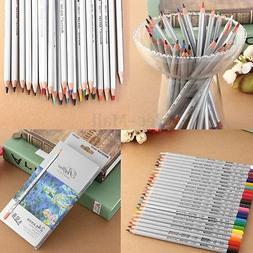 24/36/48/72 Color Marco Fine Oil Pastel Pencils Set For Arti