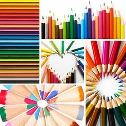 24 Colored Pencils Set Art For Kids Adult Coloring Books Dra