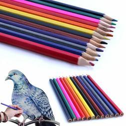 24 Colors Oil Base Sketch Painting Pencils Set Fine Artist A
