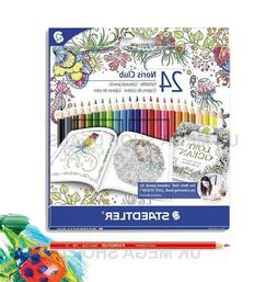 Staedtler 24 Noris CLUB - Assorted Coloured Pencils - Johann