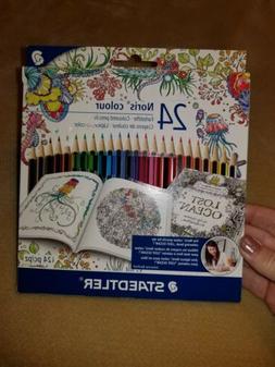 24 Piece Staedtler Colored Pencils