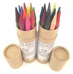 24 Piece Ashleigh Nicole Arts Woodless Color Pencils Artist
