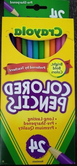 Crayola 24ct Colored Pencils