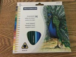 Staedtler 24CT Triangular Colored Pencils