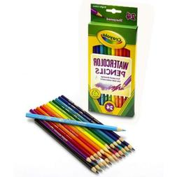 Crayola 24ct Watercolor Colored Pencils 1 Pack, Assorted