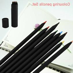 24X Colored Pencils Art Set For Drawing Sketching Painting A
