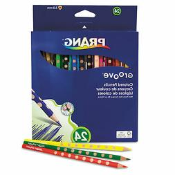 Dixon Ticonderoga 28124 Groove Colored Pencils  Assorted  3.
