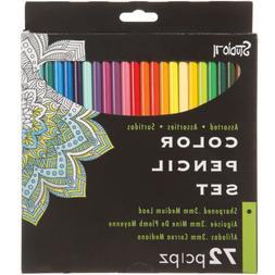 Darice 30017000 Studio 71 Colored Pencil Set 72/Pkg-