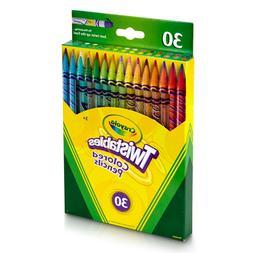 Crayola 30ct Twistables Colored Pencils Coloring Crayons
