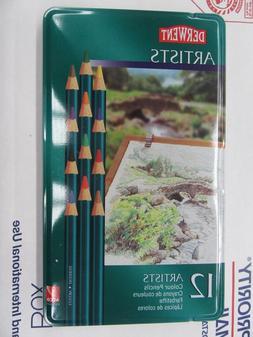 Derwent 32092 Pencil Color Tin - Set of 12