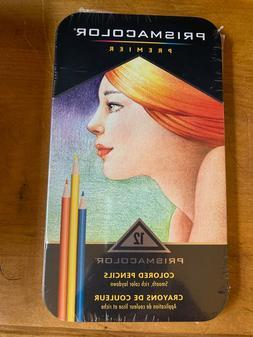 Prismacolor 3596 Colored Pencils 12 Count