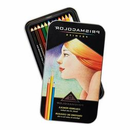 Prismacolor 3596T  Premier Colored Pencils, Soft Core, 12 Co