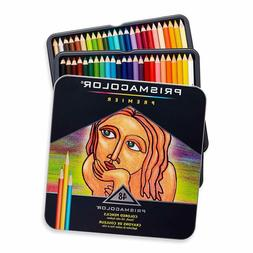 Prismacolor 3598T Premier Colored Pencils, Soft Core, 48 Pac