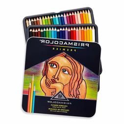 Prismacolor 3598T Premier Colored Pencils, Soft Core, 48 Pac