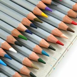 36/48 Color Coloring Art Drawing Pencil Oil Base Non-Toxic A