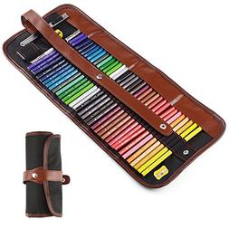 36 Assorted Drawing Art Colored Pencil kit+Rubber Eraser+Dou