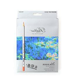 Lanxivi 36 Marco Colored Pencils with Pen Pouch Set / Color