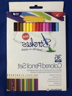 36 piece premium colored pencil set creativity