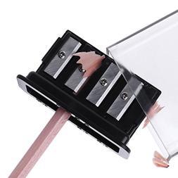 CHBC 4 Holes Pencil Sharpener For Charcoal Sketch Pencils Dr