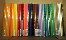 43 unused colored pencils assorted