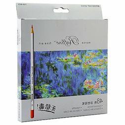 Raffine Marco 48-color Fine Art Colored Drawing Pencils Colo