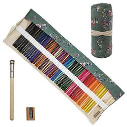 Minimin 48 Oil Based Colored Pencils Set, Soft Core Adult, H