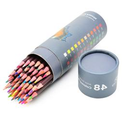 48 professional oil based coloured pencils