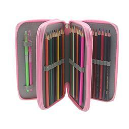 Pshine Large 48 Slots Colored Pencil holder- Pencil Case-Pen