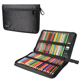 Teamoy 48 Slots Colored Pencils Case, Travel Pen Holder with